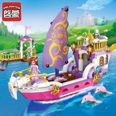 Xếp hình lego du thuyền của công chúa LEAH – ENLIGHTEN 2609
