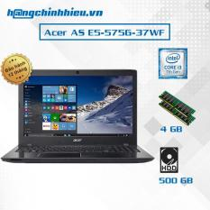 Laptop Acer AS E5-575G-37WF i3-7100U,15.6″, Win 10 – Hãng phân phối chính thức