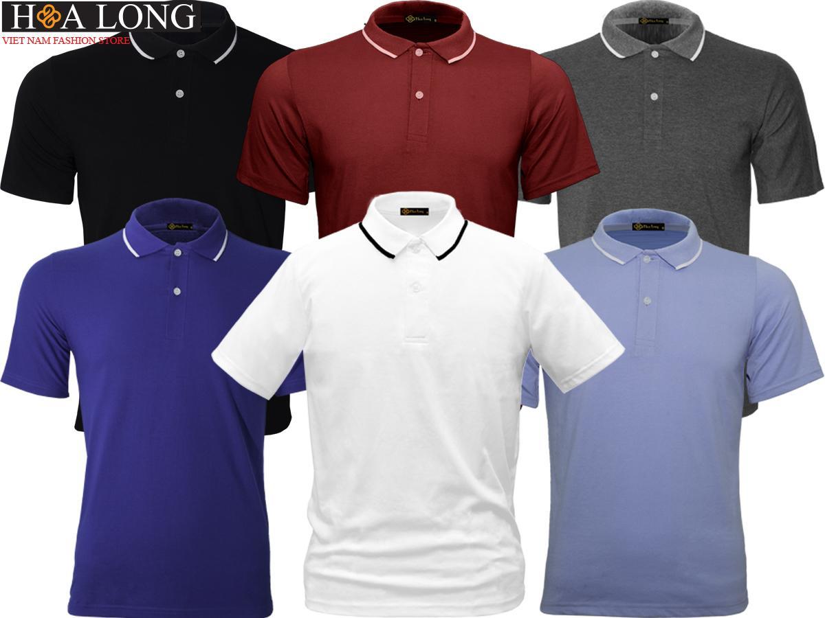 Combo 6 áo Thun Cổ bẻ Polo nam – Thoáng mát Đang Bán Tại HoaLong