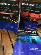 Combo bộ 3 cuốn Destination B1- B2 -C1 & C2
