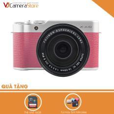Fujifilm X-A10 (Hồng) + Lens KIT XC 16-50mm F3.5-5.6 OIS II – Hãng phân phối chính thức + Tặng kèm 1 Thẻ 16Gb + túi mirroless