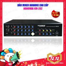 Đầu lọc tiếng, Mixer Karaoke Echo Nanomax KM-202 – Tặng dây AV