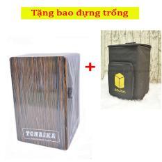 Trống Cajon Handmade Thái Lan TCHAIKA giá rẻ có Snare + Bao đựng trống – HappyLive Shop