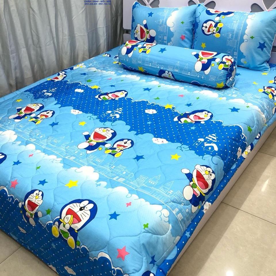 Bộ Drap Cotton Hàn Quốc Đoreamon