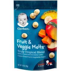 Sữa chua khô Gerber vị Truly Tropical Blend 28g