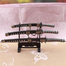bộ 3 thanh katana trưng bày nhỏ xinh đẹp