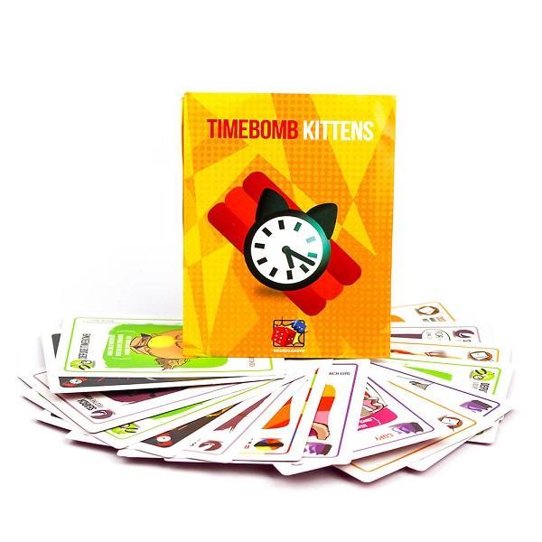 Trò chơi Board Game BG27 Timebomb Kittens – Mèo Nổ Bản Mở Rộng #4