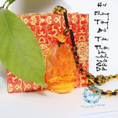 Chuỗi hạt đeo cổ mặt Hư Không Tạng Bồ Tát – Phật bản mệnh người tuổi Sửu, Dần