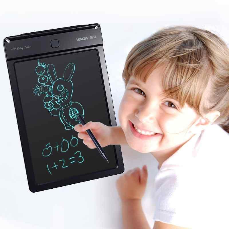 Bảng viết, bảng vẽ điện tử LCD thông minh, 12 inch, Pin dùng 2 năm.Giúp bạn ghi chú việc quan...