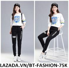 Quần Dài Nữ Thun Phom Rộng Jogger Thể Thao Thời Trang Hàn Quốc – BT Fashion (JO01-ADVANCE)