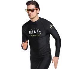 Men Swimwear Split Top Sun Protection Quick-drying Wetsuit Men Split Holiday Jellyfish Clothing – intl