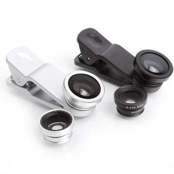 Ống kính cho điện thoại (Đen)+Tặng kèm dụng cụ soi tai có đèn trị giá 50 ngàn đồng