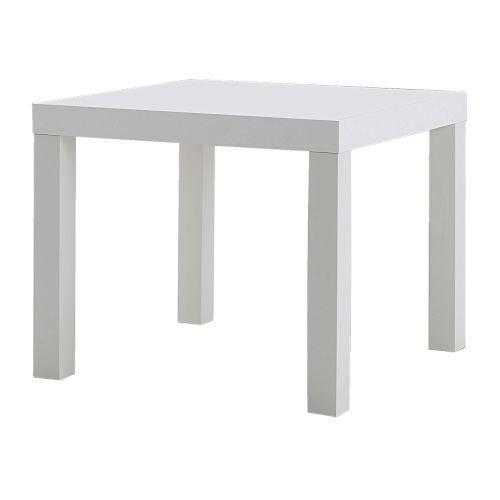 Bàn hông trắng LACK IKEA