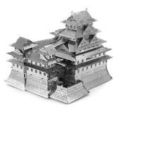 XEM VIDEO – Đồ chơi lắp ghép mô hình 3D bằng thép lâu đài Himeji castle Nhật Bản 16