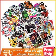 Bộ 100 Sticker Hoạt Hình Chống Nước SE100 – Mẫu Như Trong Hình