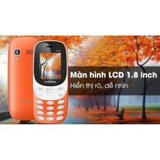 Điện thoại Mobiistar B310 – thiết kế hiện đại, độc đáo (Đỏ cam)
