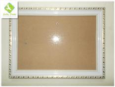 2 khung giấy khen A4 màu vàng, màu trắng viền vàng