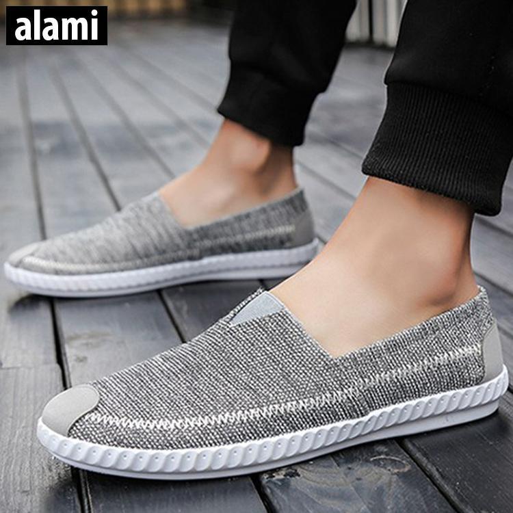 Giày Lười Vải Nam Thời Trang Alami GTT03
