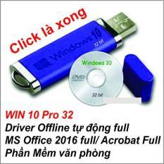 USB BOOT Cài WIN 10 Pro 32 bit _ SOFT ALL