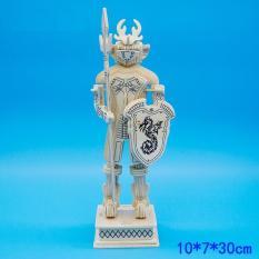 Đồ chơi lắp ráp gỗ 3D Mô hình Kỵ sỹ 3