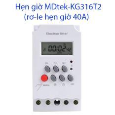 Công tắc hẹn giờ công suất lớn 4000W (chạy máy bơm 2HP) MDtek-TS316