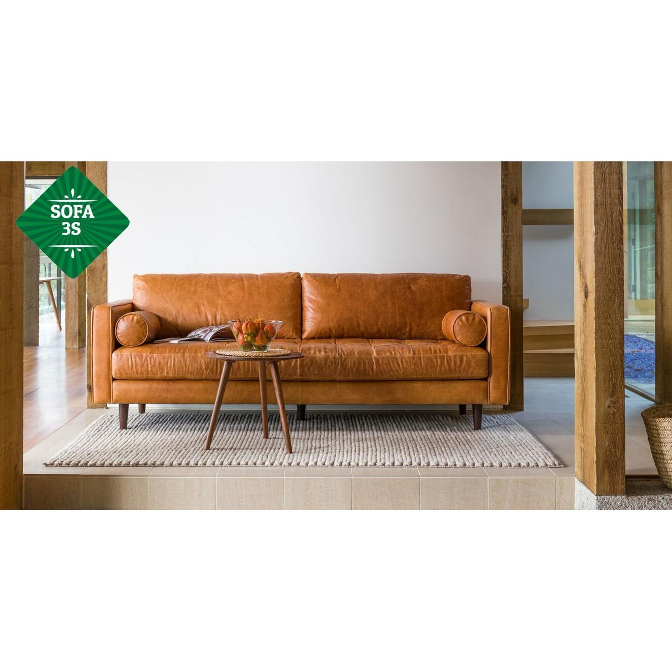 Sofa đơn băng dài da V2