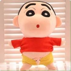 Cậu bé Shin bút chì nhồi bông lộ hàng tinh nghịch cao 28cm