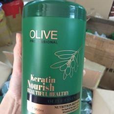 HẤP TÓC OLIVE Hũ lớn 950ML chuyên dùng cho Salon tóc
