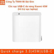 Cốc sạc USB-C đa năng Xiaomi 45W (hỗ trợ sạc laptop)
