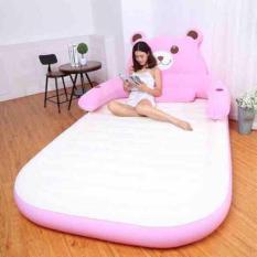 Giường hơi hình gấu tặng bơm điện