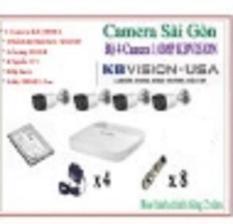Bộ 4 Camera KBvision KX-1003C4 (1.0)