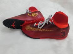 Giày đá bóng cao cổ liền tất CR7 – sân nhân tạo -khâu full