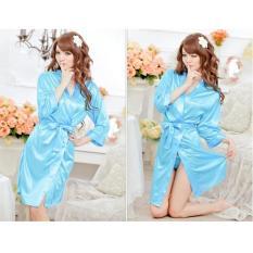Áo choàng mặc ngủ satin – DN033
