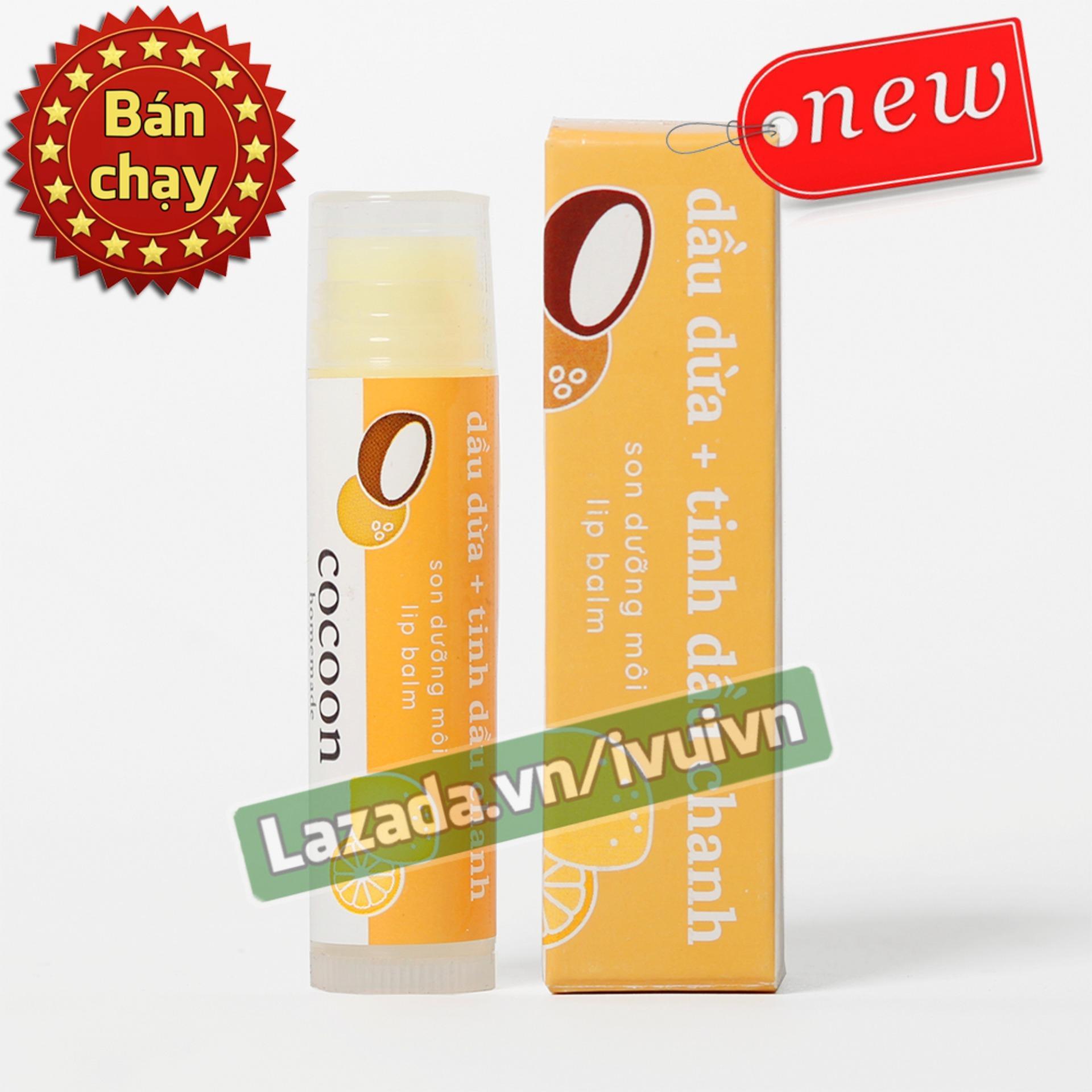 Son dưỡng môi Lip Care Cocoon 100% thiên nhiên