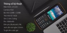 So sánh giá ĐIỆN THOẠI BAVAPEN B25 2 SIM 2 SÓNG PIN TRÂU , SIÊU BỀN Tại www.hangsieutot.com