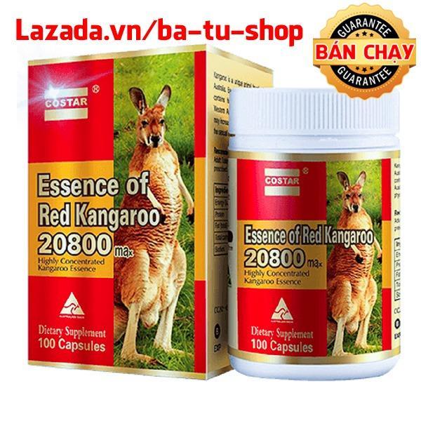 Viên uống nâng cao sinh lý Costar Essence of Red Kangaroo 20800 Max (100 viên)