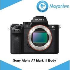 Sony Alpha A7 Mark III Body (Hàng chính hãng)