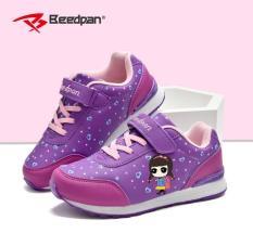 Giày thể thao Hồng Kông cho bé gái đế chống trượt, thoáng khí ( mầu tím )
