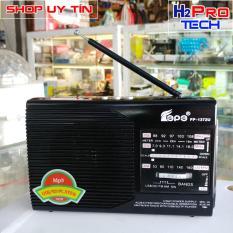 Đài Radio Fepe FP-1372U chính hãng nghe nhạc MP3, USB. thẻ SD