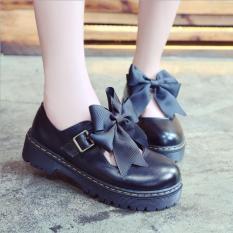 Giày nữ Lolita phối nơ phong cách Nhật Bản – TGS-GNU025