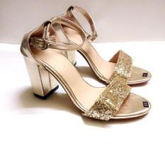 Giày sandal quai ngang kim tuyến 7p MYS