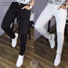 Quần Jean Nam Ôm Body -Vải jean co giãn tốt( có szie đại cho người 90kg)