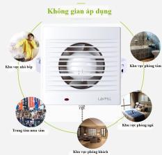 Quạt thông gió gắn phòng tắm loại phổ biến nhất thị trường