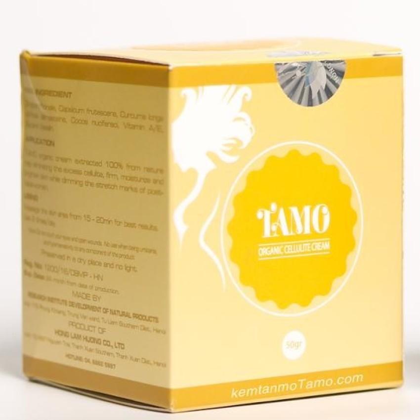 Kem Tan Mỡ Bụng Hữu Cơ Tamo 100% Thiên Nhiên 50gram