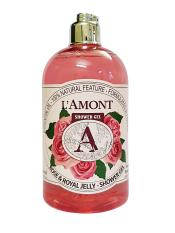 Sữa Tắm Lamont En Provence Rose & Royal Jelly Shower Gel Hương Hoa Hồng Chai 500ml
