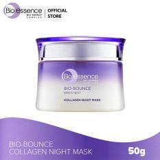 Mặt nạ ngủ dưỡng da Bio-Bounce Collagen Night Mask Bio-essence 50g