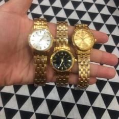 [KHÔNG MUA HƠI PHÍ] Đẹp hoàn hảo với chiếc đồng hồ dây thép mặt viền đá 2 vạch số thêm phần quý phái cho nữ G115-CHW