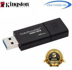 USB 3.0 16GB Kingston DT 100 G3 NEW 2019 – CAM KẾT BH 5 NĂM 1 ĐỔI 1