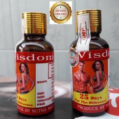Viên Uống Hỗ Trợ Tăng Cân và Cơ Bắp (Hộp 25 Viên) Của Indonesia – Wisdom Weight