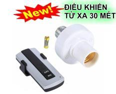 Đui đèn E27 điều khiển từ xa bằng sóng RF